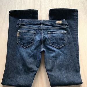 Paige Laurel Canyon Blue Jeans Womens
